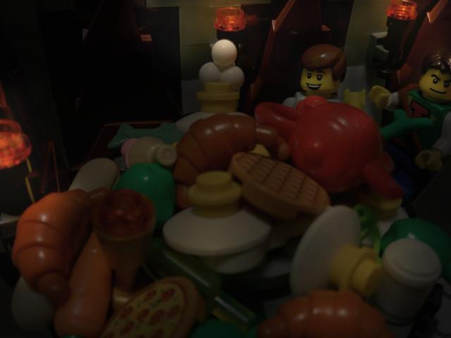 A buffet!